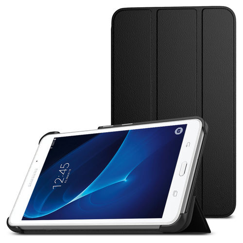 Trifold Smart Case & Stand for Samsung Galaxy Tab A 7.0 (2016) - Black